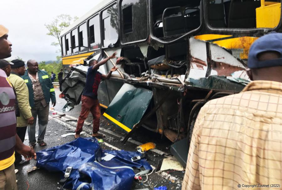 Zoutnet News In Brief Bus Accident Leaves 33 Injured